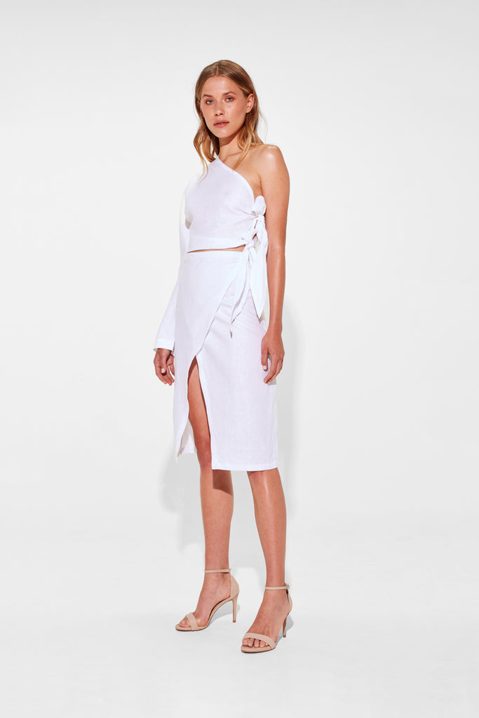 BROOKE WRAP SKIRT
