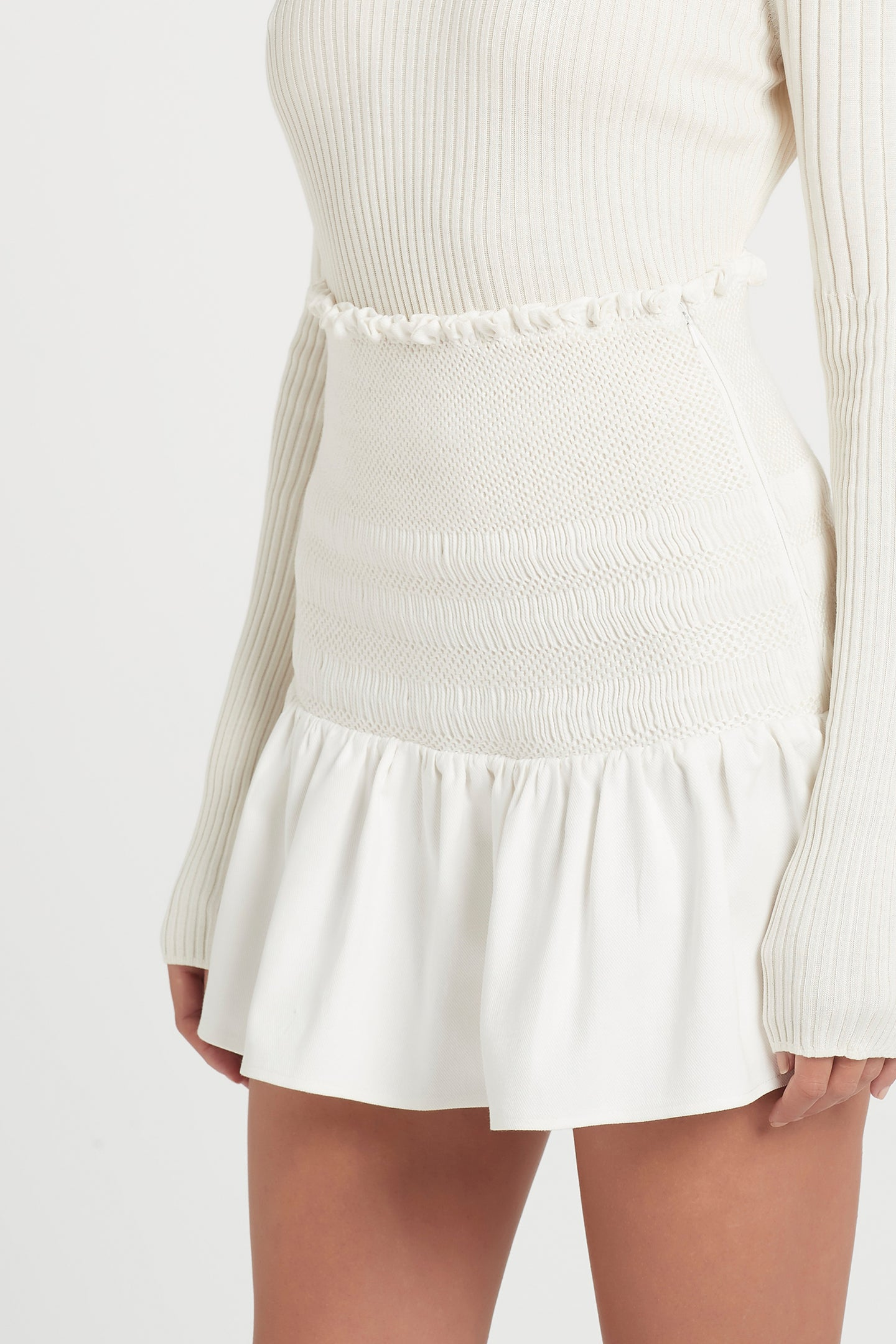SIR the label ARLO MINI SKIRT IVORY
