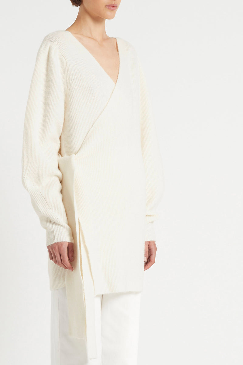 SIR the label FRANCA CARDIGAN IVORY