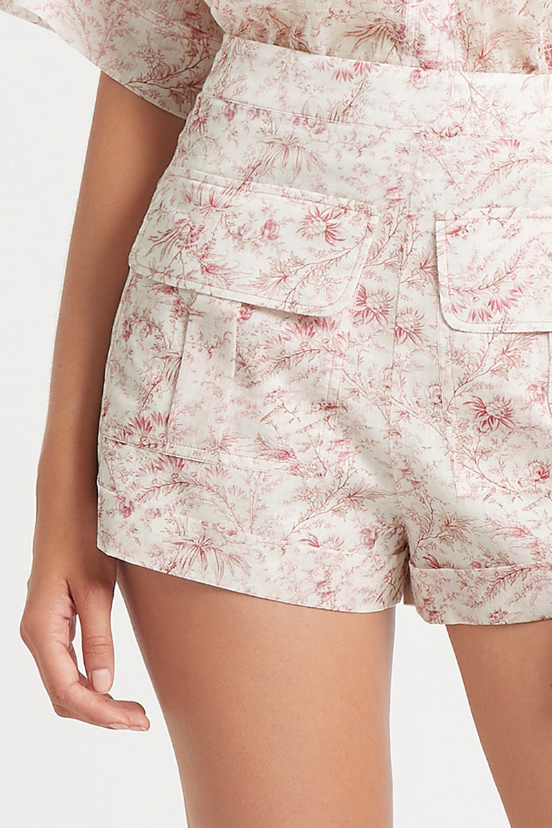 SIR the label CAPRICE SHORT CAPRICE PRINT