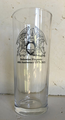 Official Queen Bohemian Pint Glass 1975-2015
