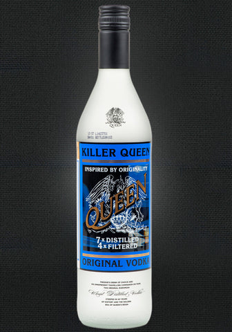 Killer Queen Original Vodka  Limited Edition Numbered
