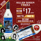 Holiday Special £17 Killer Queen Original Vodka -Limited Edition & Numbered - Ideal for Gifting