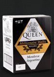 Queen Millionaire Waltz Malbec Wine Case of 6 x 750ml 14.5% ABV