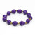 Bracelet -  Amethyst Solid - Just One Africa
