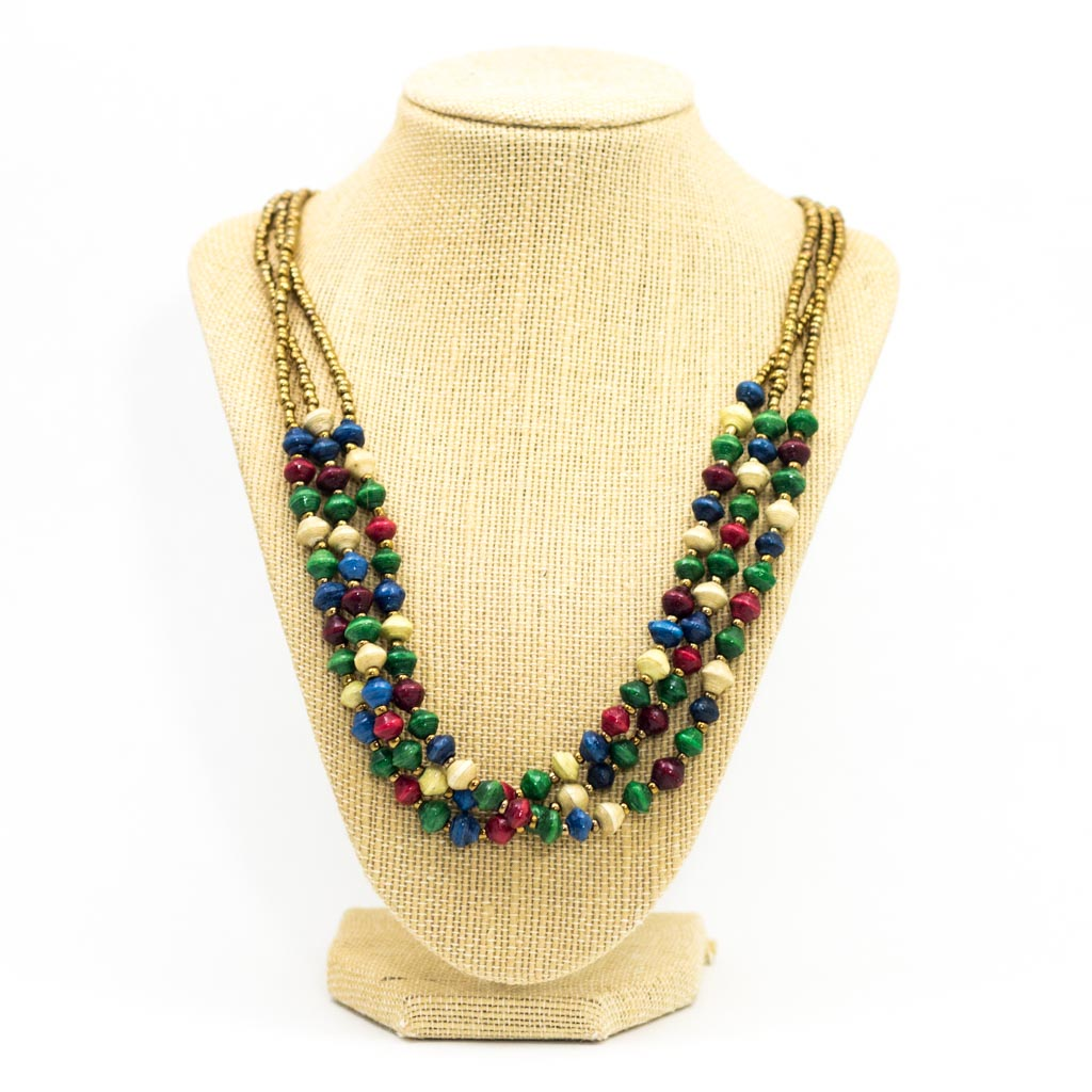 Necklace - Celebration Triple Strand