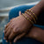 Bracelet - Toffee Triple Wrap Solid - Just One Africa