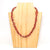 Necklace - Nyekundu Triple Strand - Just One Africa