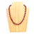 Necklace - Poppy Triple Strand - Just One Africa