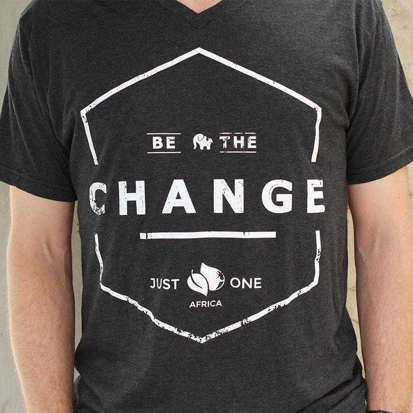 Be the Change T-Shirt Thumbnail