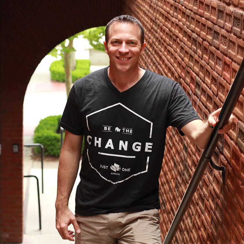 Be the Change T-Shirt - Black