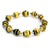 Bracelet - Yellow/Black Stripe - Just One Africa