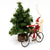 Christmas Ornaments - Santa on Bike - Just One Africa