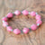 Bracelet - Cotton Candy Solid - Just One Africa