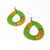 Earrings -  Lime