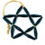 Paper Bead Ornaments - Star Various Colors
