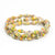Bracelet - Sunrise Triple Wrap Multi - Just One Africa