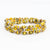 Bracelet - Sunshine Triple Wrap Multi - Just One Africa