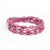 Bracelet - Think Pink Triple Wrap Multi - Just One Africa