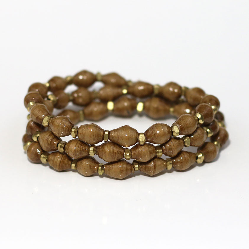 Bracelet - Toffee Wrap Solid