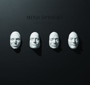 Mind Spiders - Prothesis LP out now on mailorder-exclusive CLEAR vinyl!