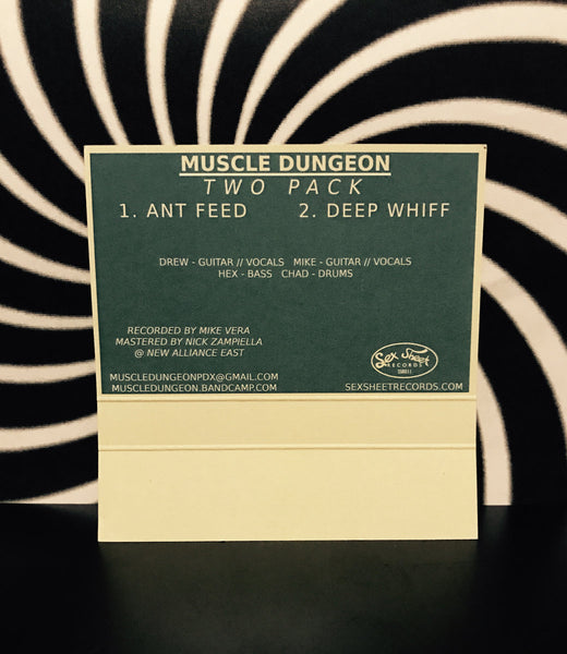 Muscle Dungeon - Two Pack - Cassette