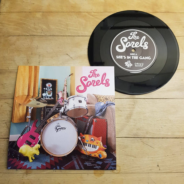 "Sorels, The – ""She's in the Gang"" / ""School Girl Blues"" – New 7"""