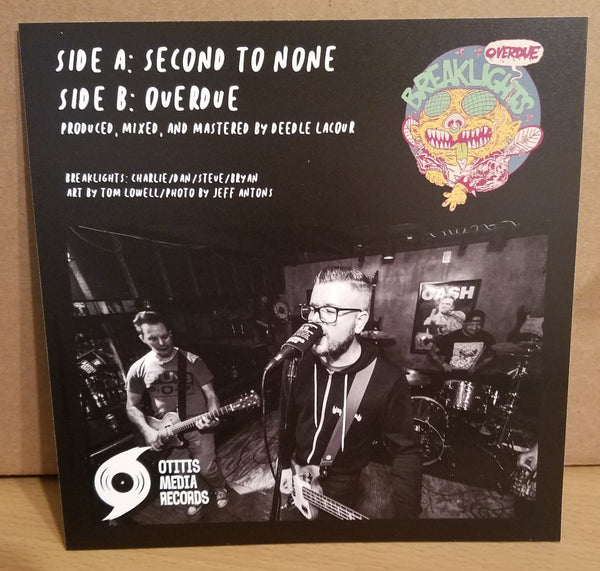 Brakelights – Second to None [Color Vinyl; Punk] – New 7""