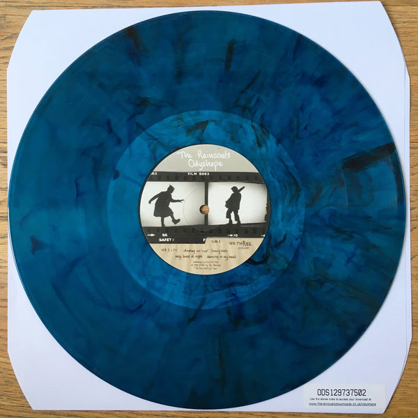 Raincoats, The -Odyshape [BLUE MARBLE VINYL] - New LP