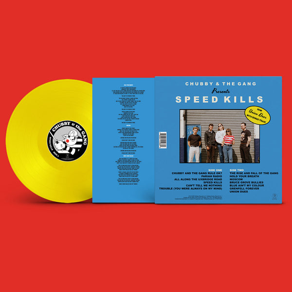 Chubby & the Gang – Speed Kills [IMPORT LIMITED EDITION YELLOW VINYL] – New LP