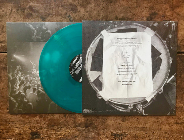 Snapped Ankles ‎– 21 Metres To Hebden Bridge [RSD IMPORT LEAF-GREEN VINYL] – New LP