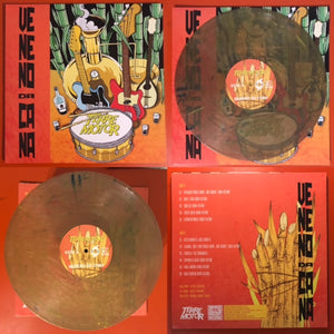 Terremotor -Veneno Da Cana [SAND MARBLED VINYL: LIMITED GREEN NOISE EXCLUSIVE COLOR; Instrumental Surf Rock; Brazil] – New LP