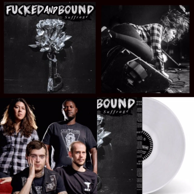 Fucked and Bound - Suffrage [CLEAR VINYL] – New LP