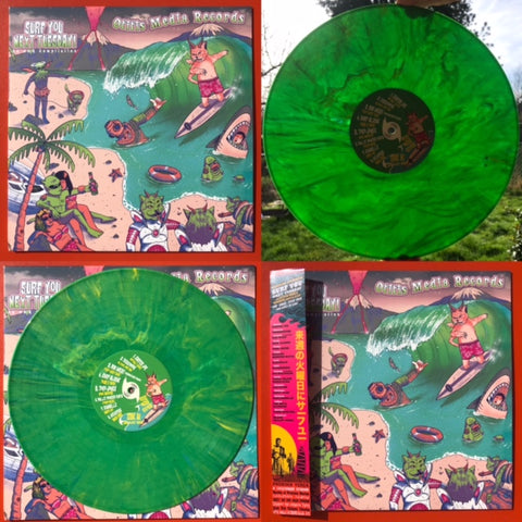 Various Artists– Surf You Next Tuesday   [Marbled Green Vinyl. International Surf Rock Comp] – New LP