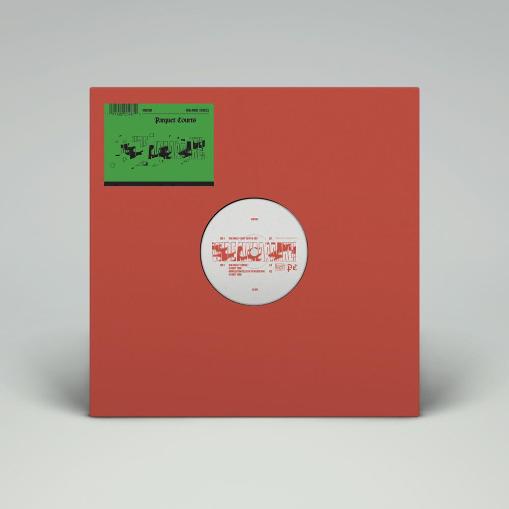 Parquet Courts - Wide Awake Remixes - 12""