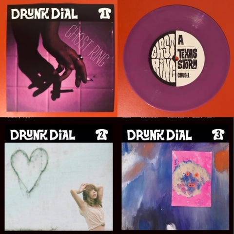 Drunk Dial Bundle (#1-3) – #1 (color vinyl) #2 #3 (black vinyl)   - New 7""