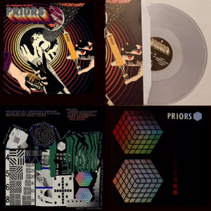 "Priors - BUNDLE ""My Punishment On Earth"" [CLEAR VINYL] and S/T debut - New LP"