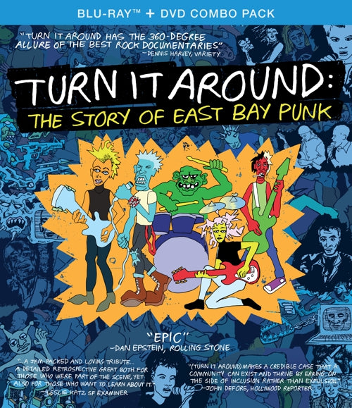 Various Artists - Turn It Around: The Story Of East Bay Punk - 2xDVD