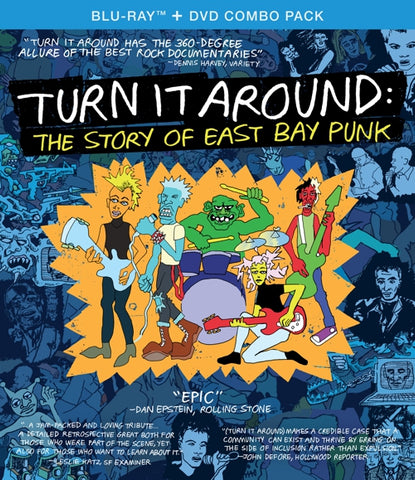Various Artists - Turn It Around: The Story Of East Bay Punk - 2xDVD New DVD