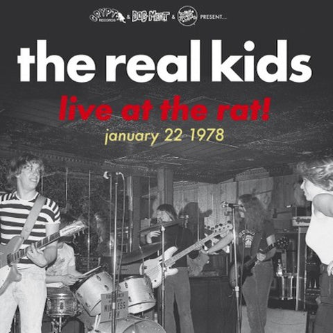 Real Kids, The - Live At The Rat, January 22, 1978 - LP