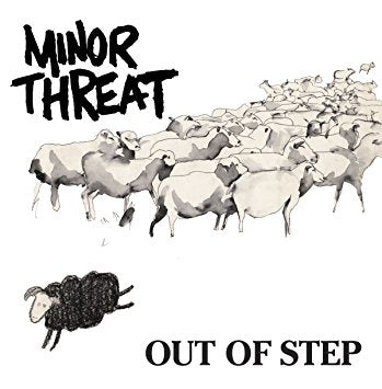 "Minor Threat - Out Of Step 12"" – New LP"