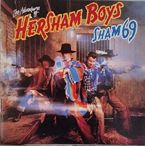 Sham 69 - The Adventures of the Hersham Boys - Used LP
