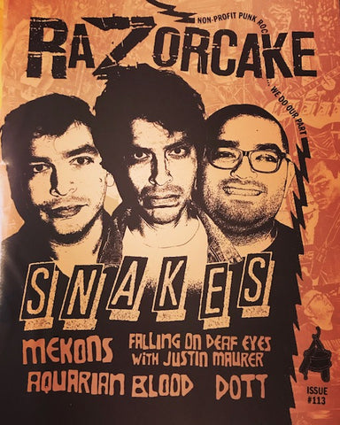 Razorcake #113 (December 2019) – New Zine