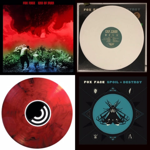 Fox Face - BUNDLE: End of Man & Spoil + Destroy [COLOR VINYL EXCLUSIVES SAVE $5]  PREORDER – New Vinyl