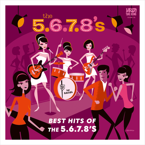 5.6.7.8.'s - Best Hits of the 5.6.7.8's – New LP