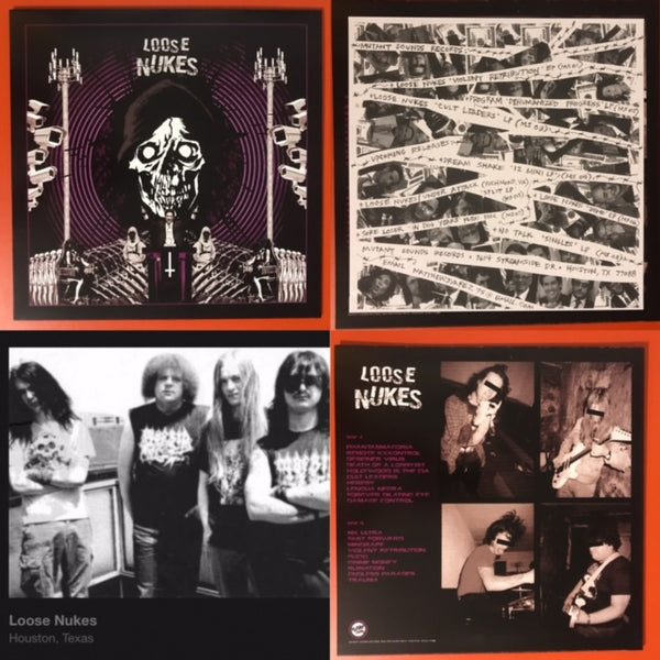 Loose Nukes – Cult Leaders [RESTOCK PREORDER] – New LP