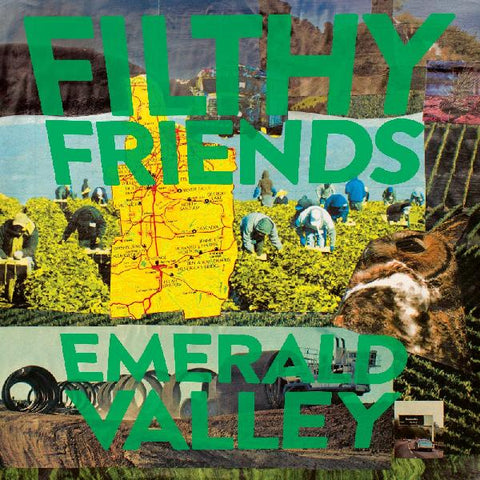 Filthy Friends - Emerald Valley (green vinyl) - New LP