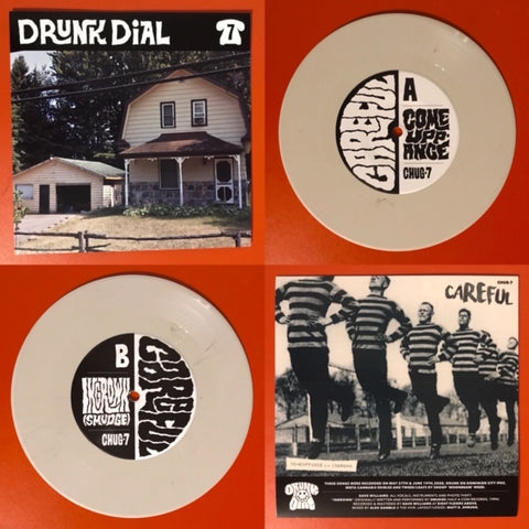 Drunk Dial #7 - Careful (Opaque Bone vinyl: Green Noise US exclusive!) - New 7""