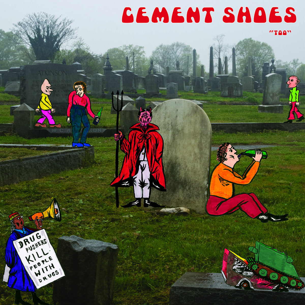 Cement Shoes - Too - New LP