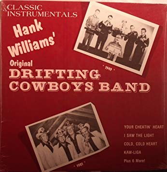 Drifting Cowboys Band - Classic Instrumentals - Used LP